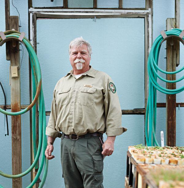 Tim Osborne is the Shaker Trace nursery manager