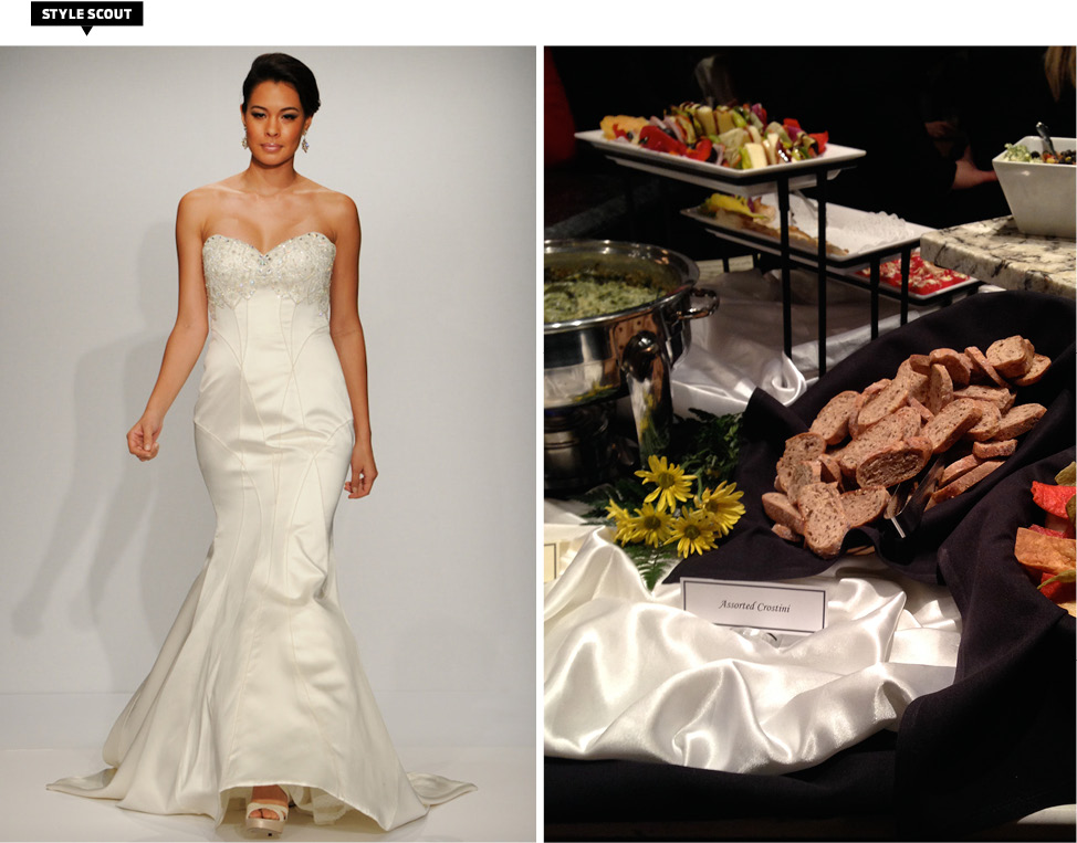 Cincinnati bridal trunk show