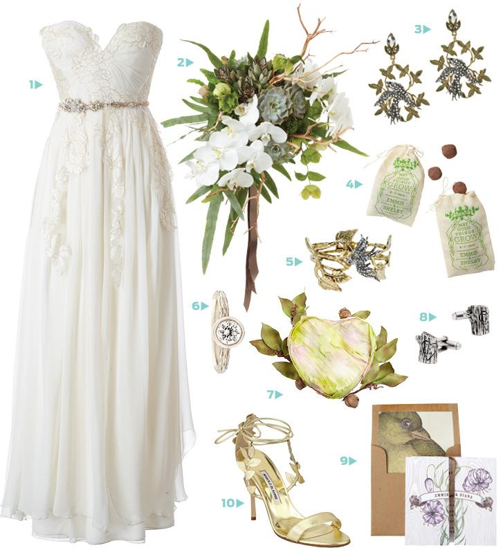 wedding fashion style