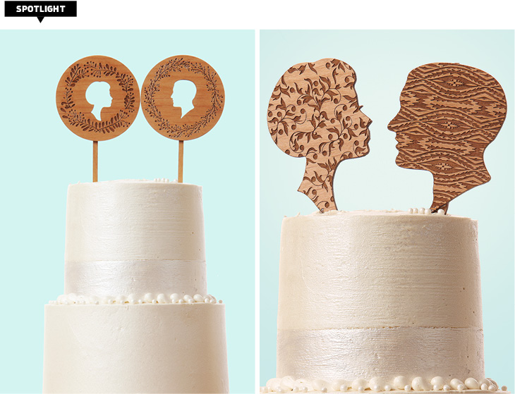Cincinnati Wedding cake toppers