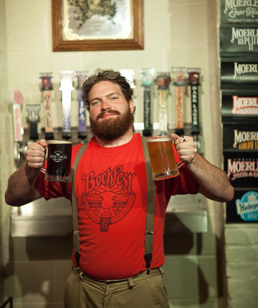 Raising a stein (or two) at Moerlein's Taproom