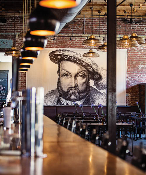 Wicked Weed Brewing, part of the Asheville Ale Trail