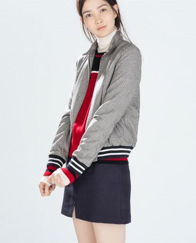Is it classic? Is it sporty? It's both! Bomber jacket, $39.99