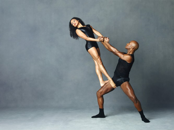 Alvin Ailey American Dance Theater's Linda Celeste Sims and Glenn Allen Sims. Photo by Andrew Eccles_01