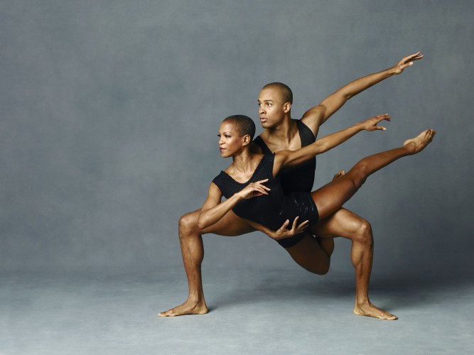 Alvin Ailey American Dance Theater's Yannick Lebrun and Akua Noni Parker. Photo by Andrew Eccles_03