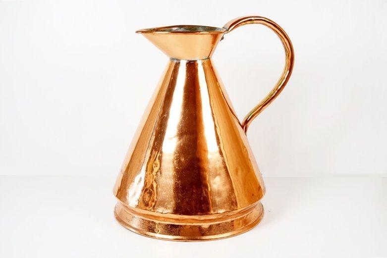 19th Century George V Copper Haystack Three Gallon Measure