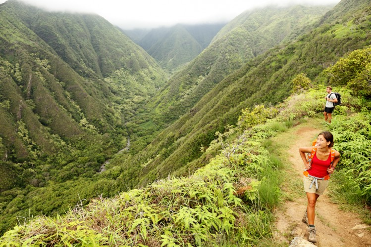 Waihee Ridge Trail in Maui