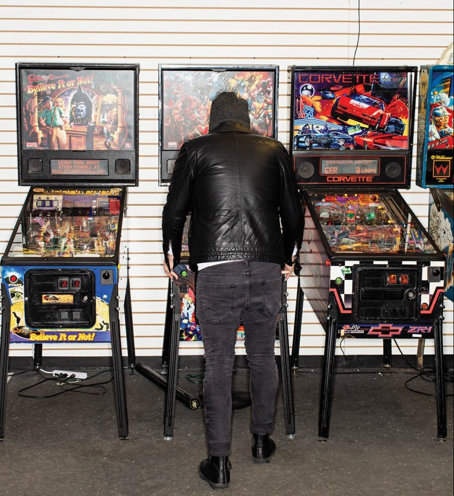 Deep into a session at Arcade Legacy in the Cincinnati Mills Mall