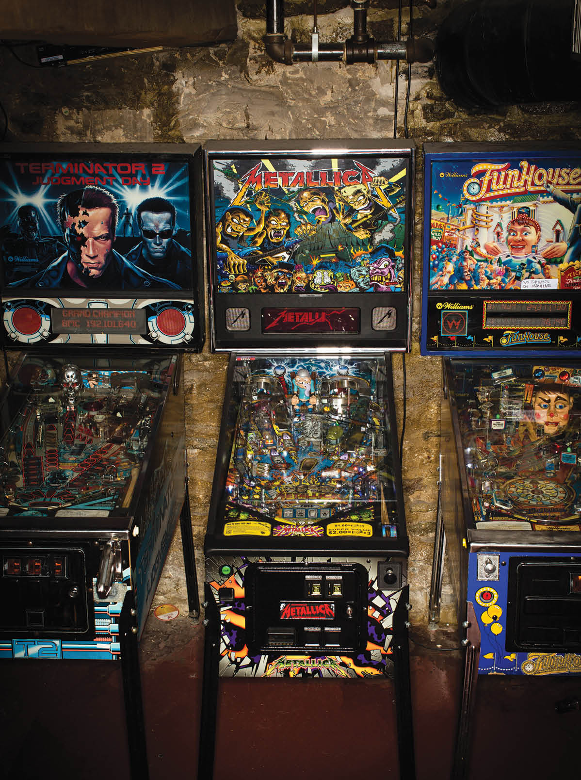 At MOTR Pub in Over-the-Rhine, it's music upstairs, pinball downstairs