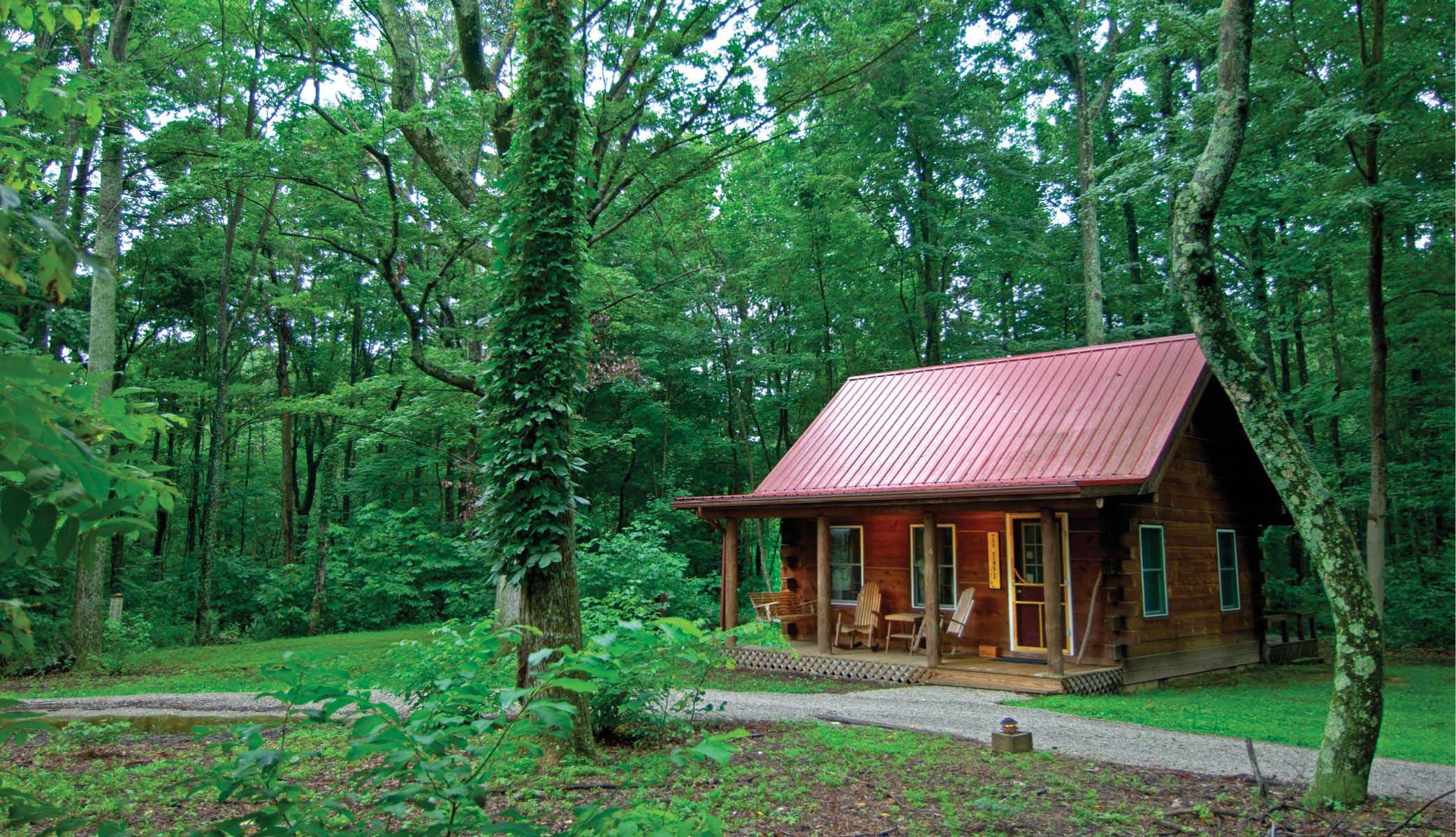 A cabin at Murphin Ridge Inn
