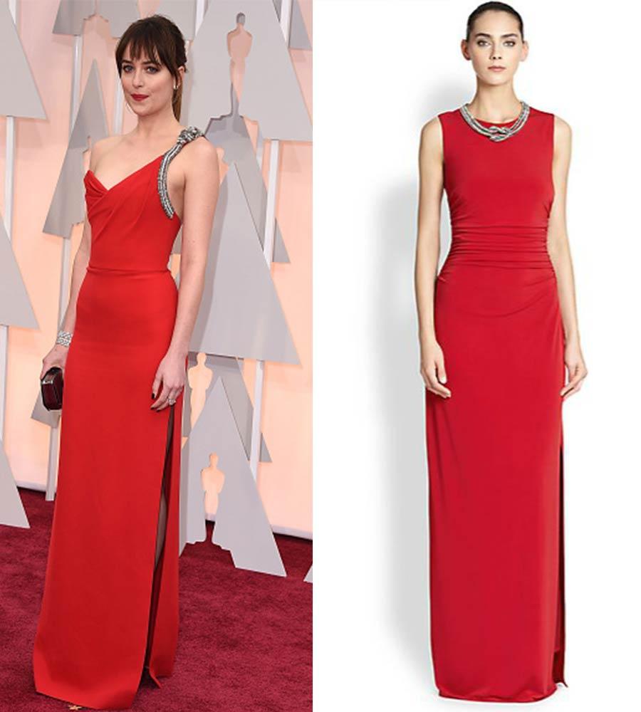Dakota-Johnson-Oscar-gown-lookalike