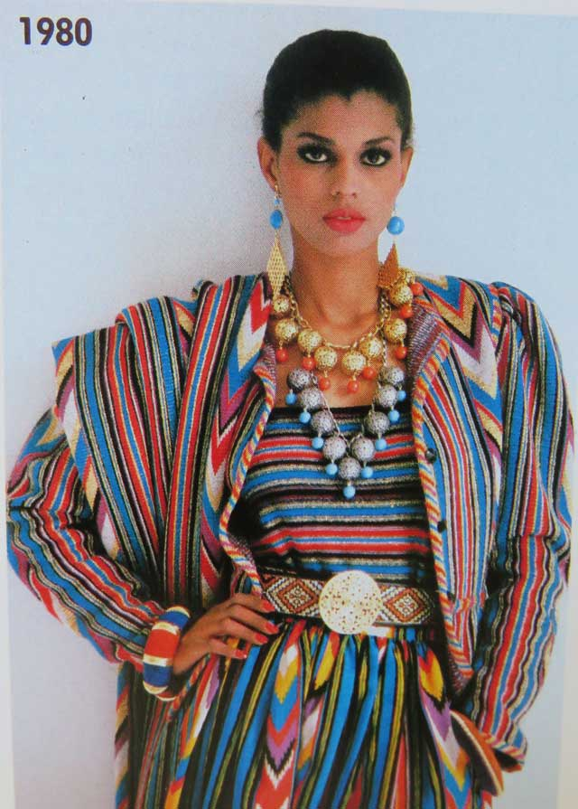 The colors, the patterns, the accessories are all too much yet somehow just right.