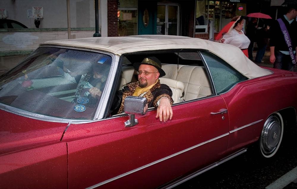Mike Morgan in his Eldorado