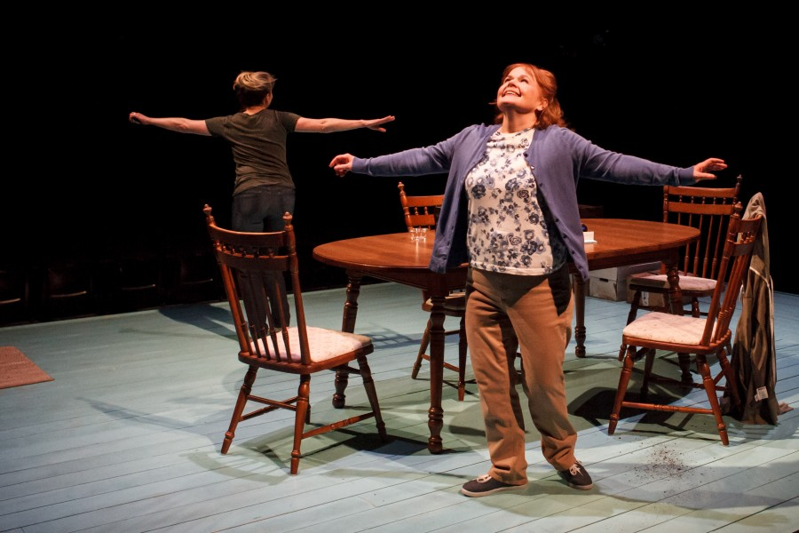 Margaret Daly and Tasha Lawrence in 'The Roommate' by Jen Silverman