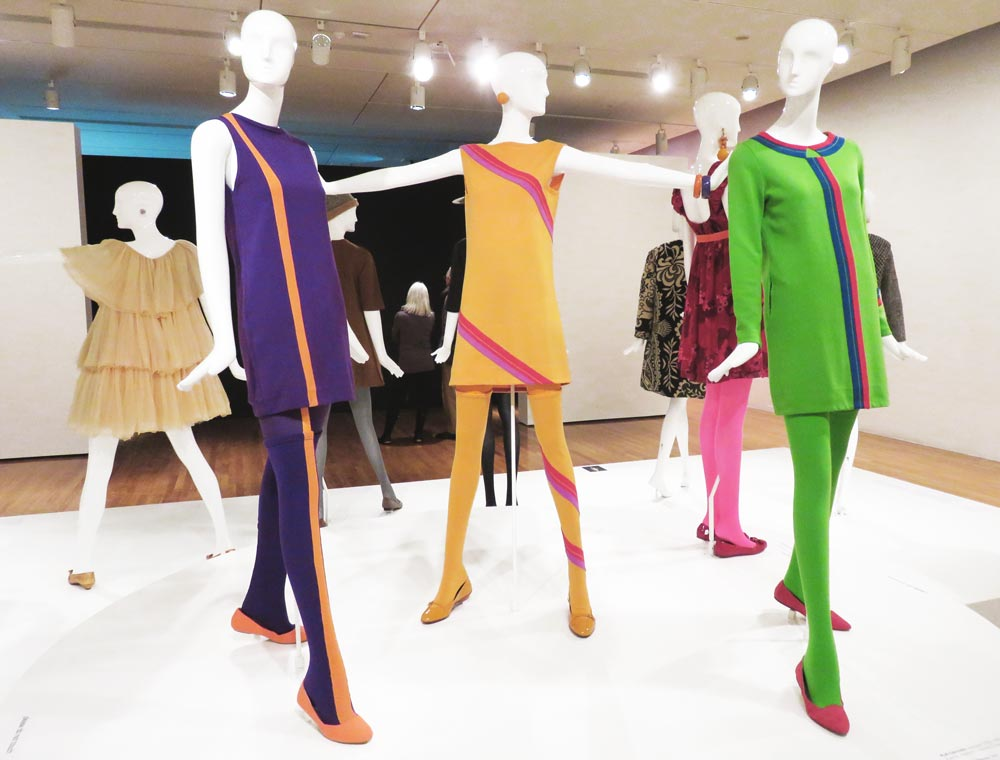 Gernreich designed for head-to-toe dressing, right down to the stockings.