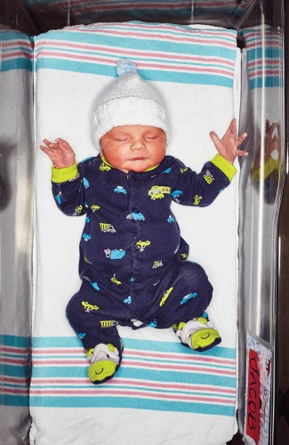 Jacob, 20 hours, 26 minutes old Born 2/22 3:34 p.m.