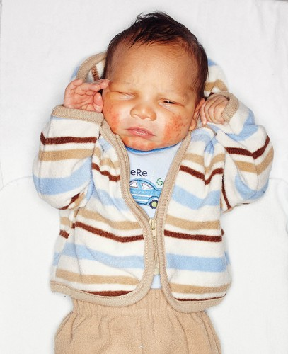 Malik, 67 hours, 20 minutes old Born 2/20 4:40 p.m.