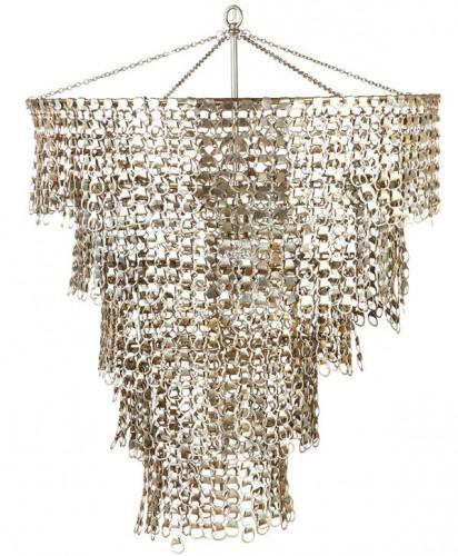 1970s chandelier, $950, Mainly Art, mainlyart.com