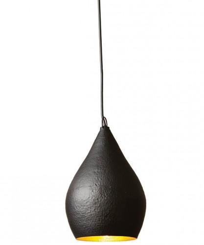 Four Hands Little Black Pendant, $150, Bromwell's, bromwells.com