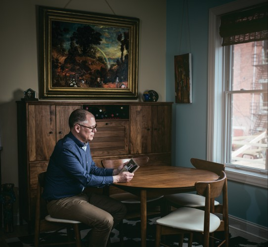 Obergefell photographed in his home on April 21, 2015.