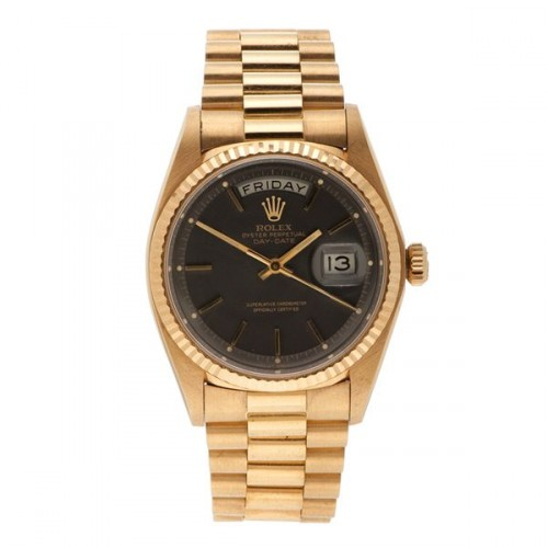 You really can't go wrong with a big ol' vintage Rolex. Gordon Gekko would be proud.