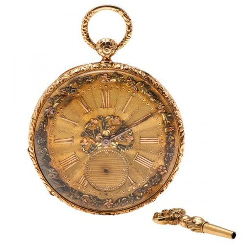 How cool would it be to break out this badass pocket watch while everyone else is standing around with their faces glued to their smartphones?