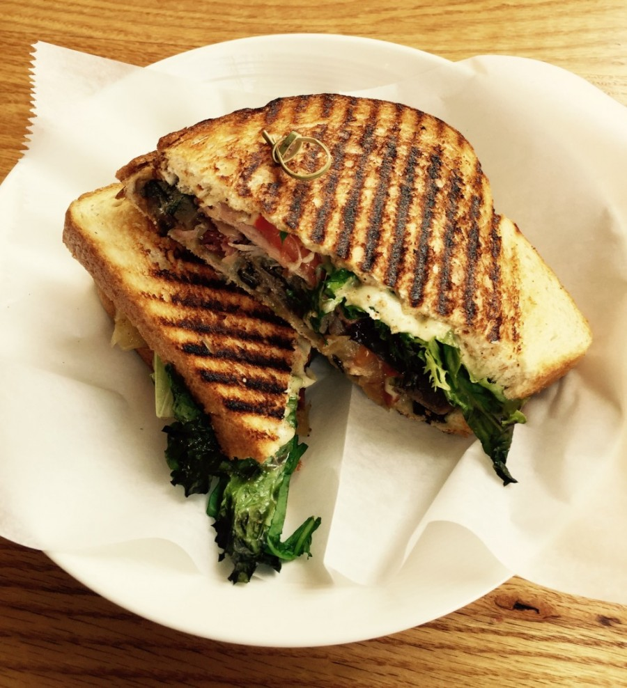 Black Forest Ham and Roast Beef Panini