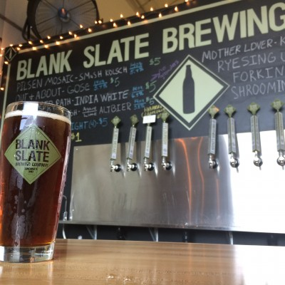 """""""Orchids Bloom,"""" a French-style saison brewed with coriander and hibiscus, was the first of four seasonal brews created by Blank Slate Brewery and Orchids. The two companies are working together on their second brew, which will be on tap in July."""