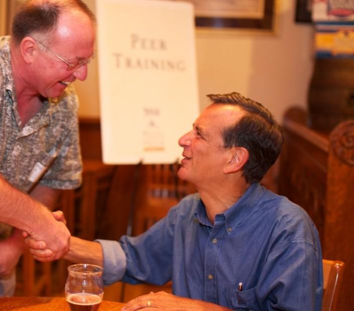 Jim Koch at a Sam Adams Brewing The American Dream event