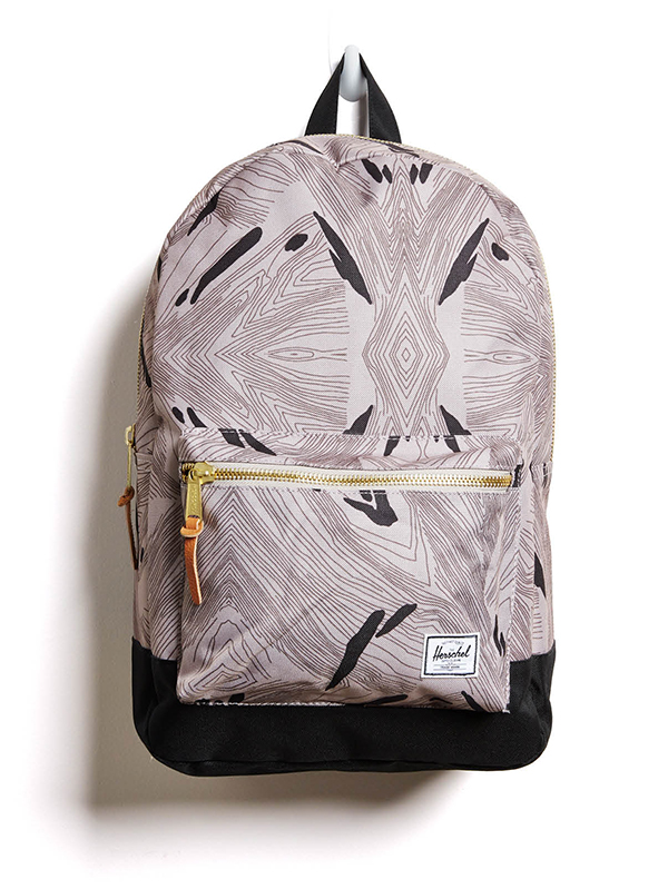 PARTY LINES Designed to be timeless, with a clean silhouette and attention to utilitarian details. Herschel Supply Company Geo Settlement, $60, Unheardof, unheardofbrand.com