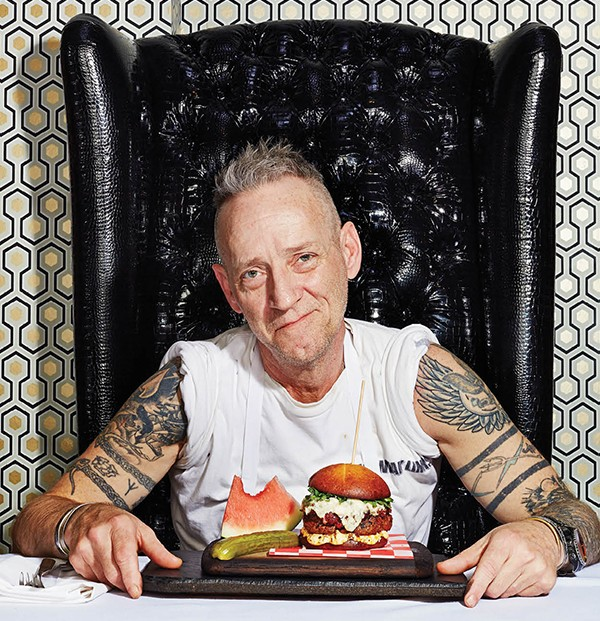 """Jimmy Gibson, chef/owner of Jimmy G's and the city's recognized """"sultan of steak,"""" knows his way around a burger, too."""