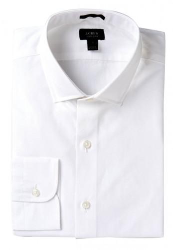 J. Crew Ludlow spread-collar shirt with convertible cuffs, $98, jcrew.com