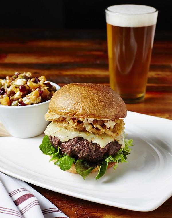 #7 Kentucky Bison Burger from the National Exemplar