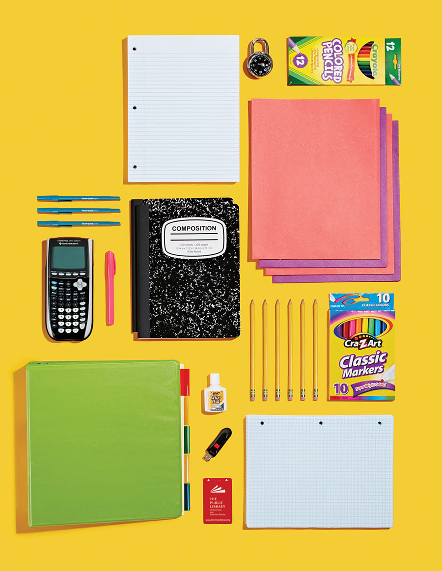 11th and 12th grade supplies