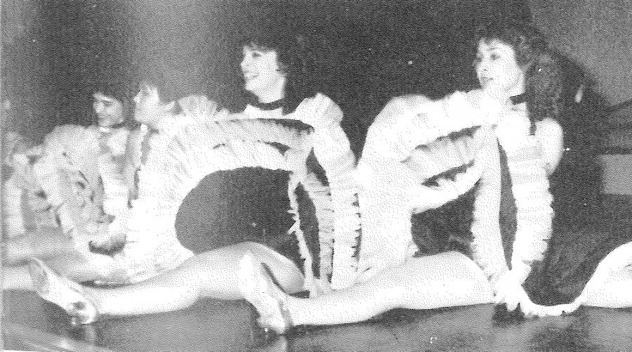 1987 Girls' Kickline