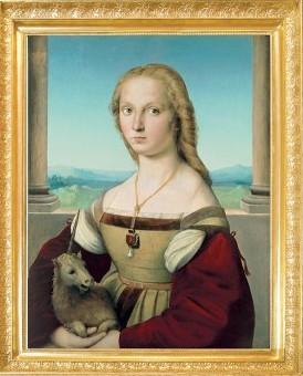 Portrait of a Lady with a Unicorn