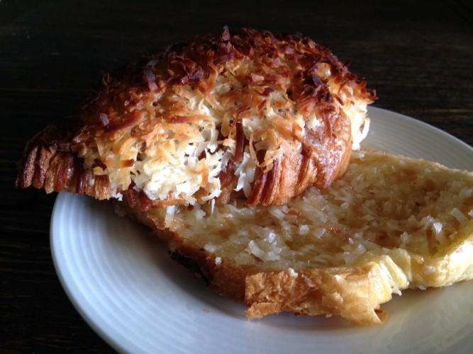 Blue Oven Bakery coconut croissant