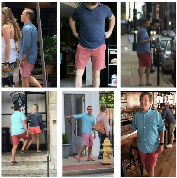 Salmon Shorts of OTR