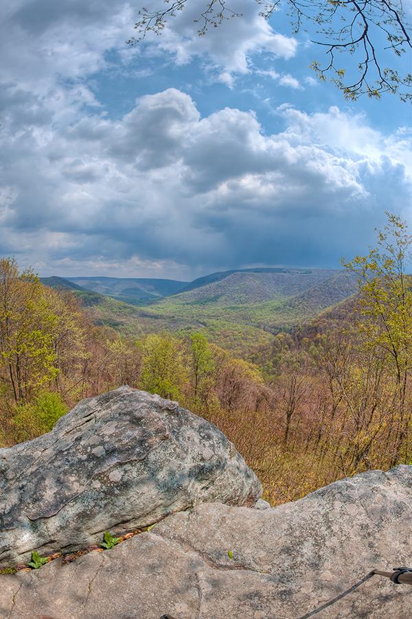 Baughman Rock Overlook, Ohiopyle State Park