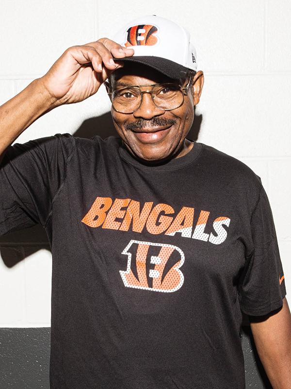 "James ""JB"" Brown, the Bengals superfan"