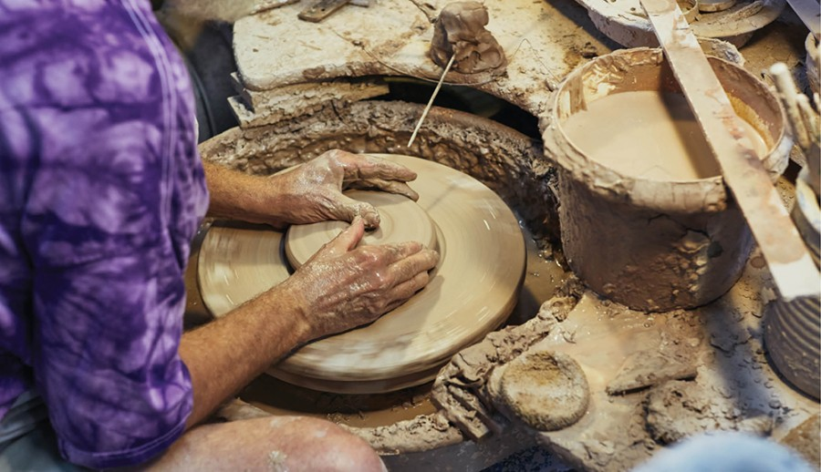 Baum Pottery, Oregonia