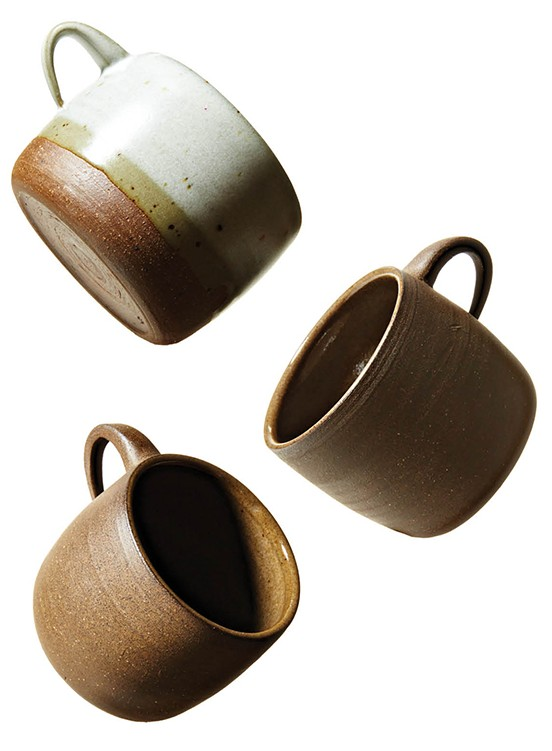 Local potter Christie Goodfellow's charmingly simple mugs are a reflection of her admiration for minimalist design. Made with durability and everyday use in mind, these just might be your new favorite coffee cups. Tiny mug, $30; low mug, $42, cgceramics.net