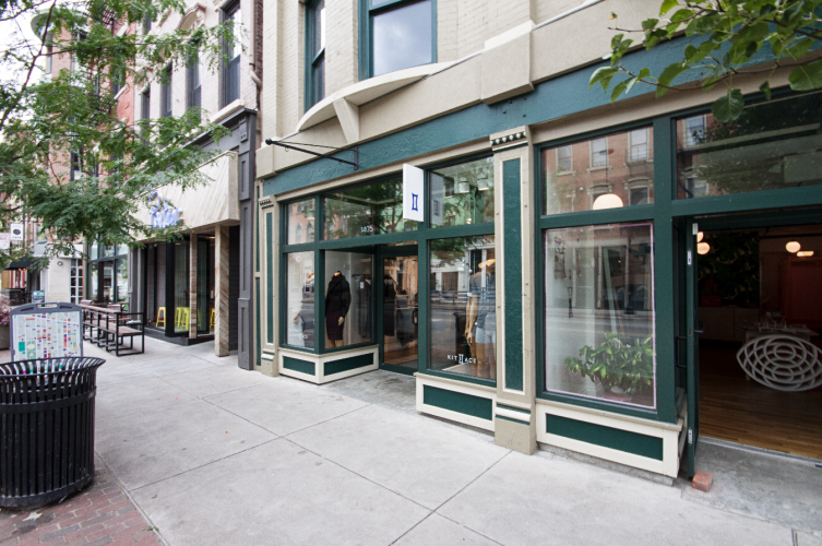 """Explore """"effortless luxury"""" at Kit and Ace."""