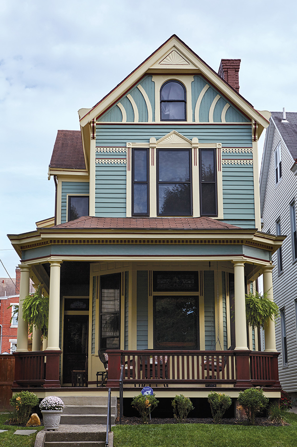 Covington and Newport have a large stock of colorful, stately Victorians—many of which have had recent facelifts.