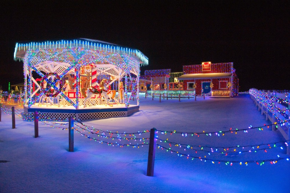 The Carousel at The Christmas Ranch