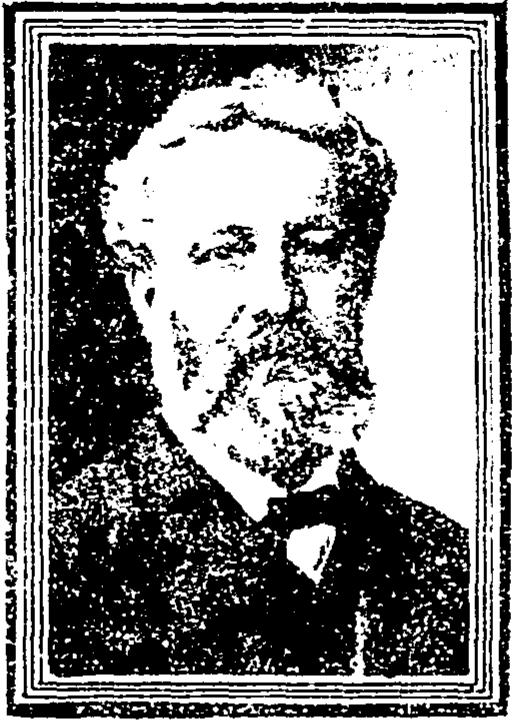 Portrait of Jules Verne, from Cincinnati Enquirer, 22 March 1905