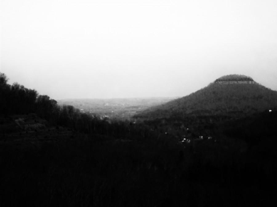 """""""Mountain"""" Polaroid image"""