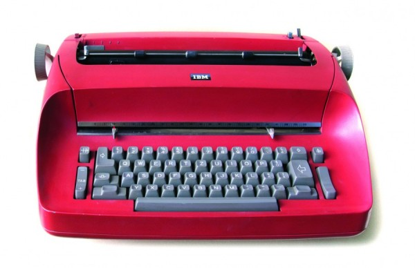 IBM Selectric typewriter. Alfred R. Wepf collection.