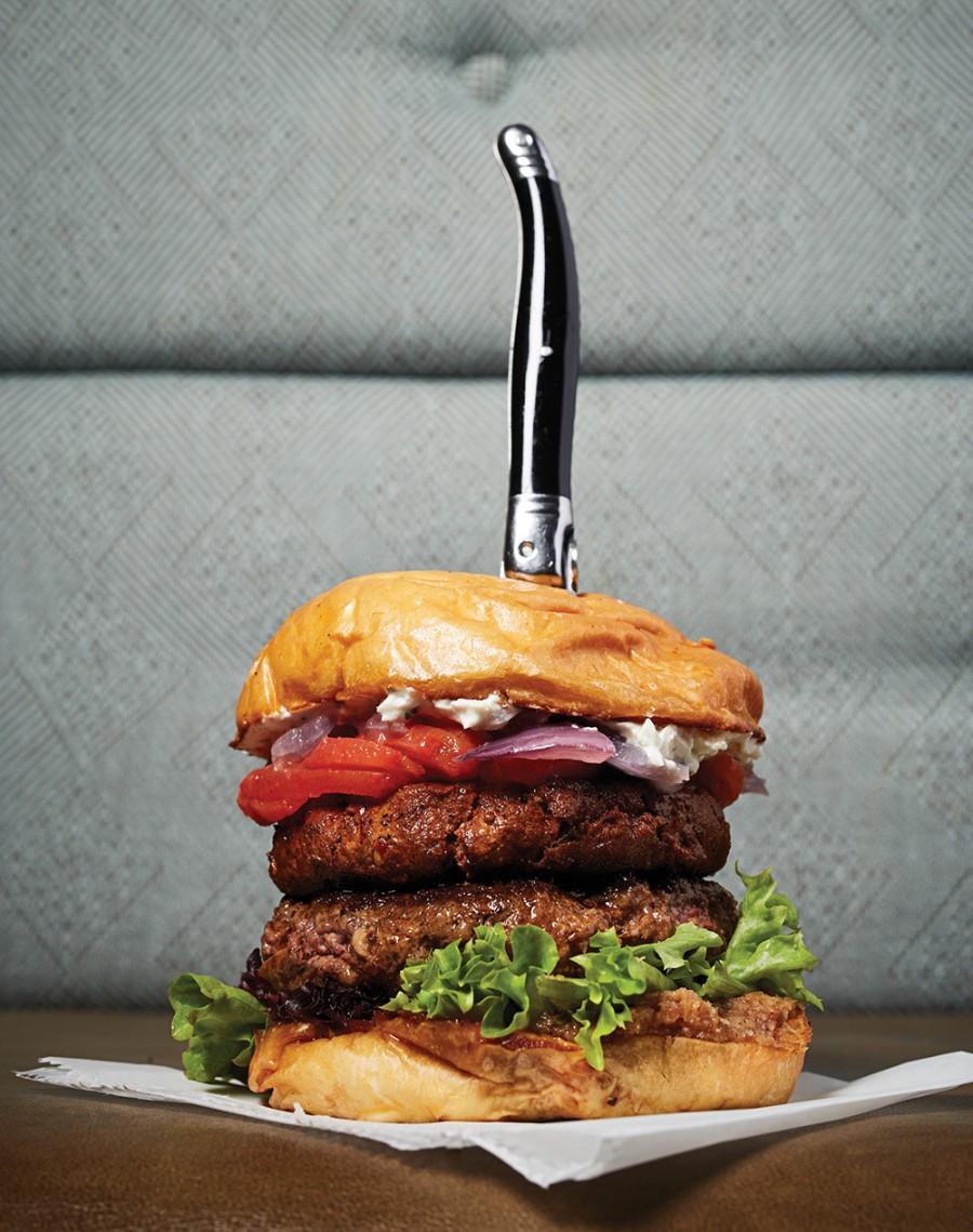 The multi-beast burger