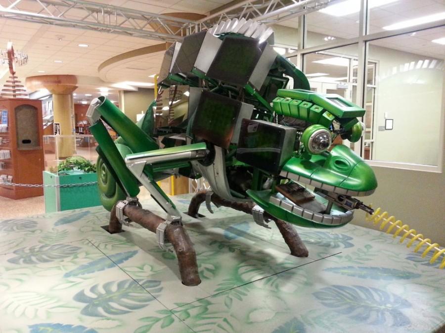 Chameleon at The Robot Zoo